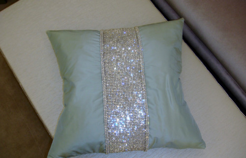 The Belgravia Throw Pillow, Diamante Collection by Thundersley Home Essentials Inc. 212 889 1917