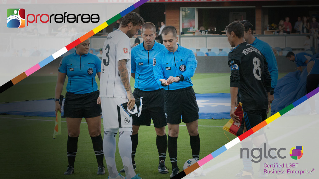 ProReferee Officially Certified as LGBT Business Enterprise (LGBTBE®) by National LGBT Chamber of Commerce