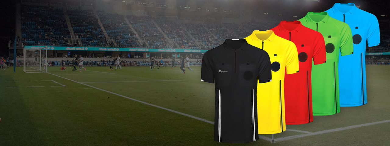Soccer Referee Jerseys