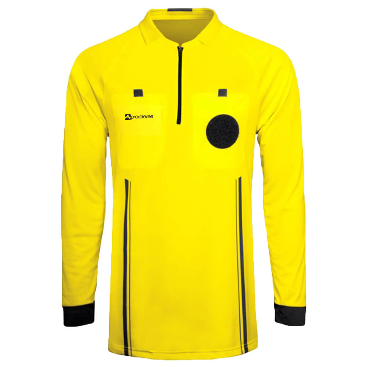 77230a7da9 ProReferee Soccer Referee Jersey Long Sleeve (Yellow)