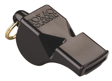 Fox 40 Classic Black Whistle