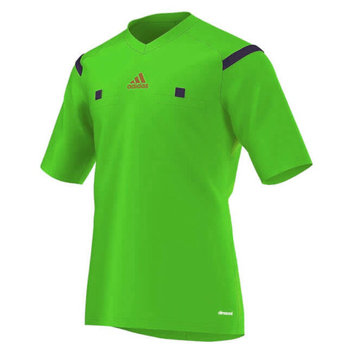 2014 Adidas Referee Jersey Short Sleeve (Green)