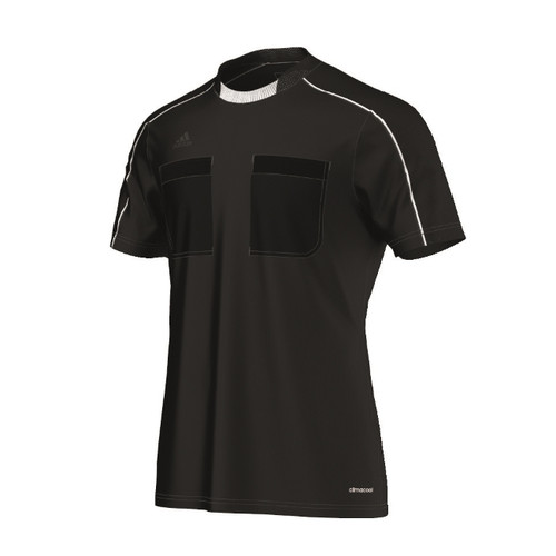 2016 Adidas Referee Jersey Short Sleeve (Black)