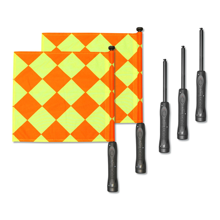 """Touchline Powerflags """"Continental"""" Kit"""
