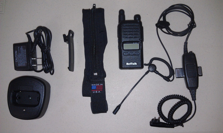 RefTalk Referee Radio Communication Kit