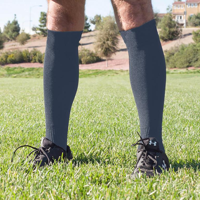 Collegiate Navy Blue Referee Socks