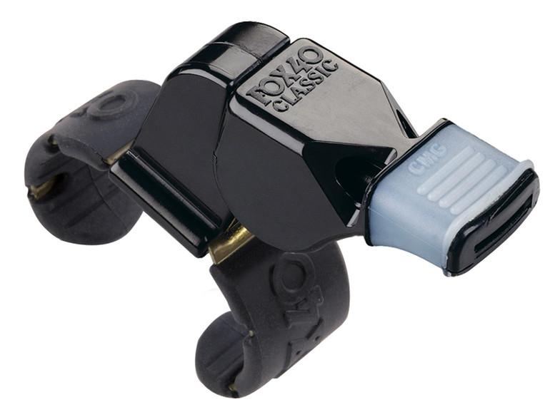 Fox 40 Classic CMG Whistle w/Fingergrip