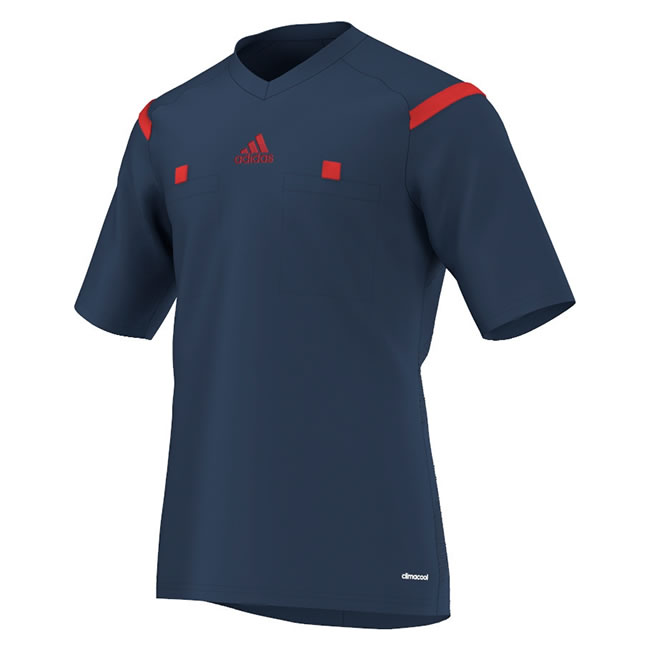 4f37ae4fd 2014 Adidas Referee Jersey Short Sleeve (Collegiate Navy)
