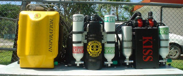 So which one is yours? Better get a Pony-ID on those bottles or at least a Diver-ID on that Inspiration to help MAKE SURE YOUR GEAR STAYS YOUR GEAR and let your dive buddies know which diver to follow once you are deep down and in the dark depths.
