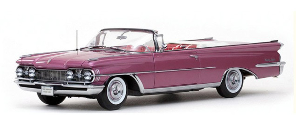 Sun Star 1959 Oldsmobile 98 Convertible Burgundy Mist Metallic