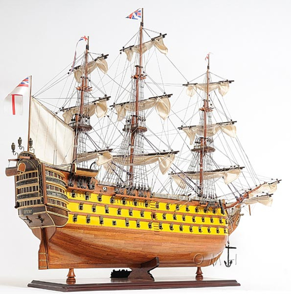HMS Victory Painted Tall Ship