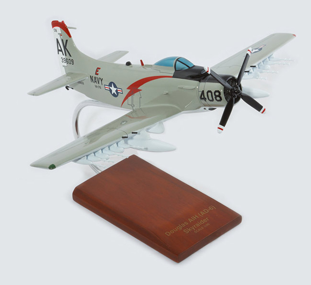 A-1H Skyraider USN Model Airplane