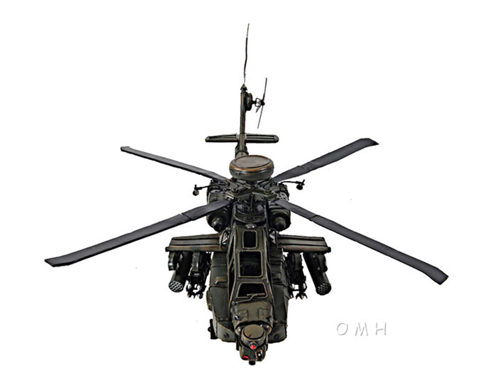 AH-64 Apache in 1:24 Scale
