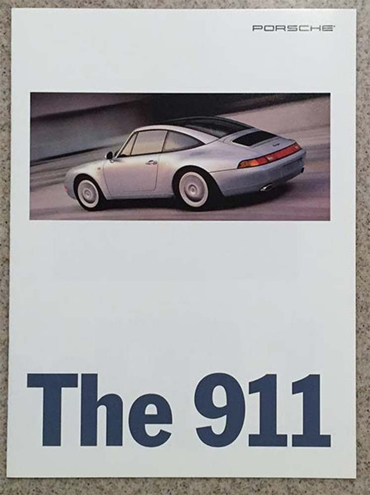 1996 Porsche 911 Carrera, Targa, Turbo Dealer Brochure