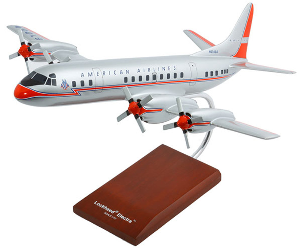American Airlines L-188 Electra Model Airplane