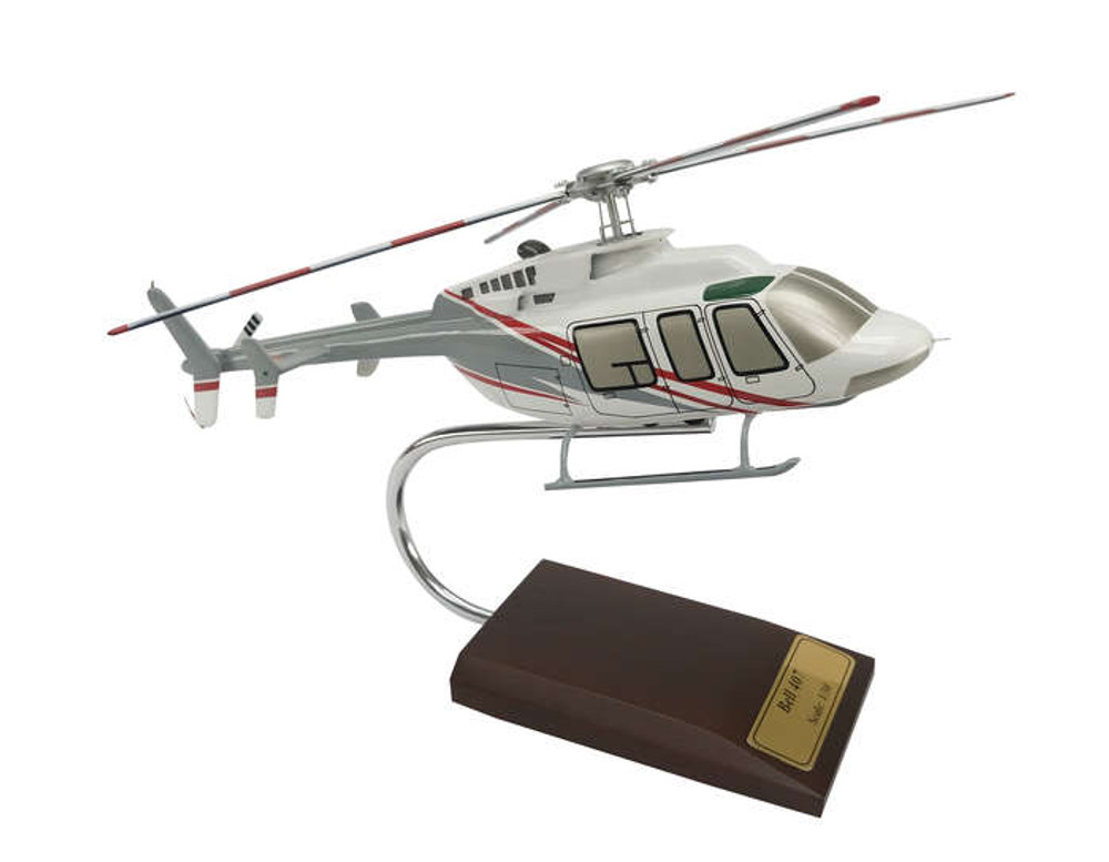 Bell 407 Helicopter Model