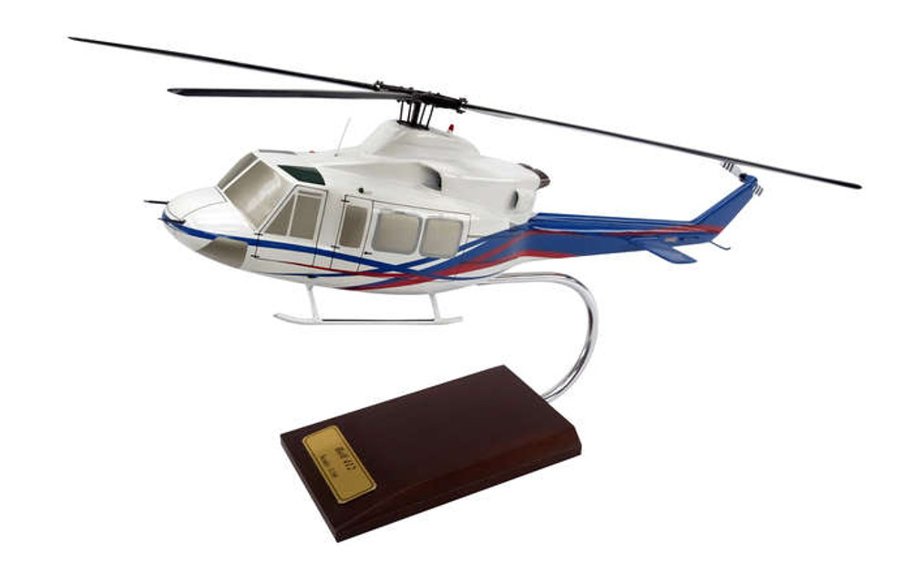 Bell 412 Helicopter Model