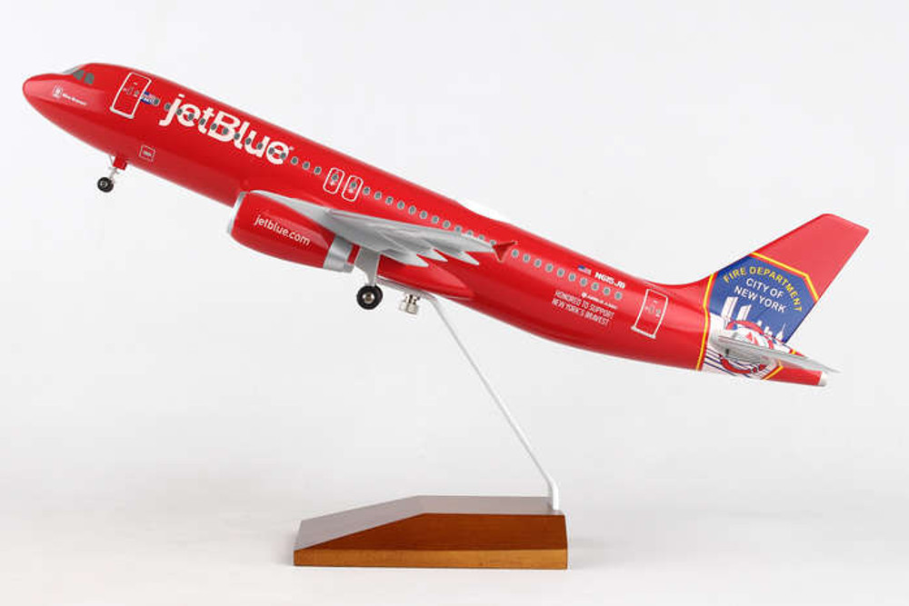 JetBlue Airbus A320 FDNY Livery