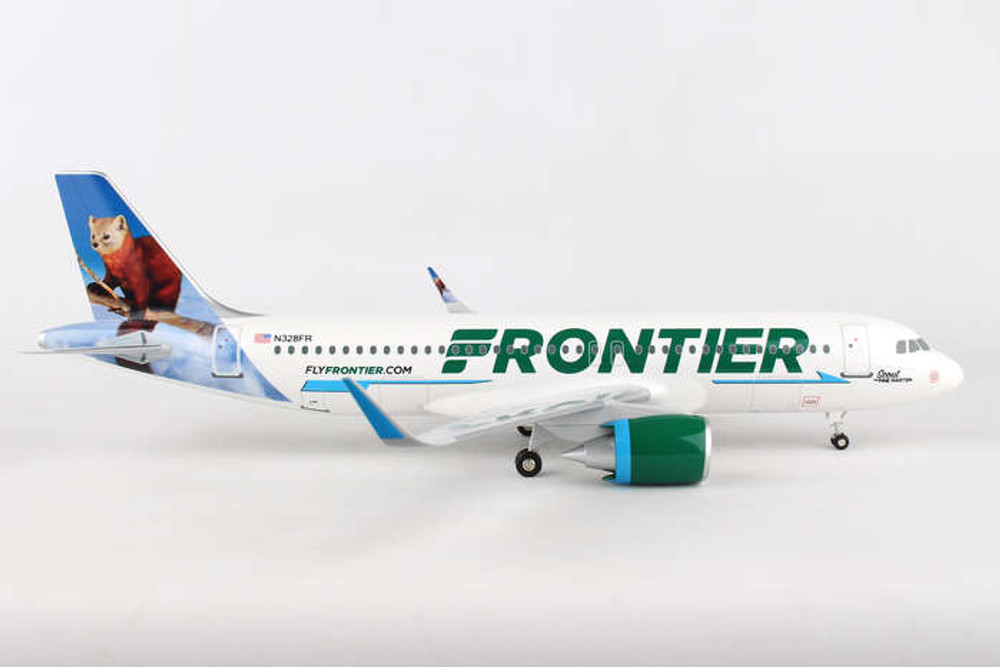 Frontier Airlines A320 Scout The Pine Marten