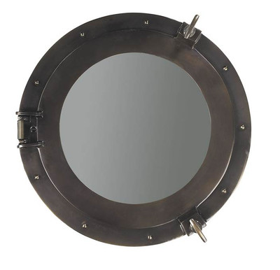 Authentic Models Cabin Porthole Mirror Medium