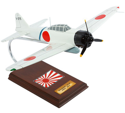 A6M2 Zero Saburo Sakai Airplane Model