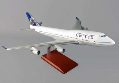 United B747-400 Post Continental Merger Livery