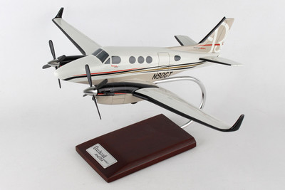 King Air C90GTx Airplane Model
