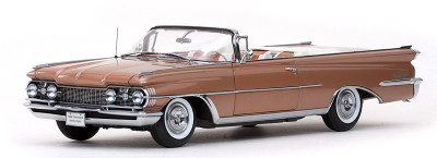 Sun Star 1959 Oldsmobile 98 Open Convertible Bronze Mist Metallic