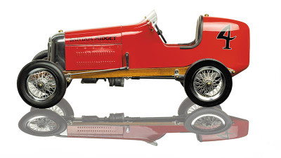 Authentic Models Bantam Midget Racer Red