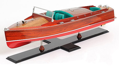 Chris-Craft Runabout Painted Speedboat Model