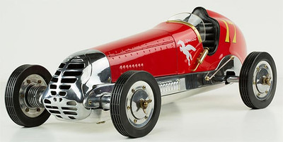 1930s BB Korn Car Red