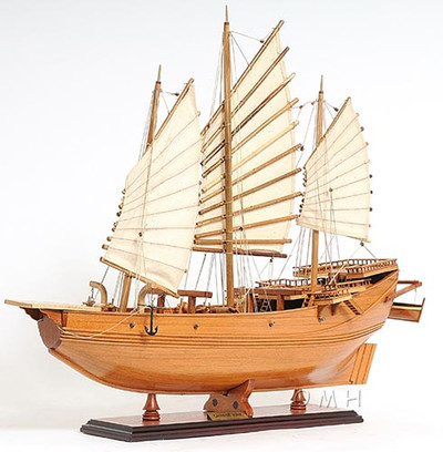Chinese Junk Sailboat