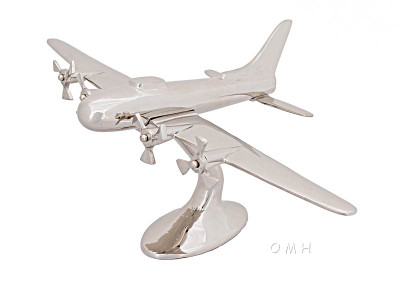 Aluminum WWII Airplane Model