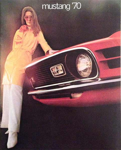 1970 Ford Mustang Original 15-Page Dealer Catalog
