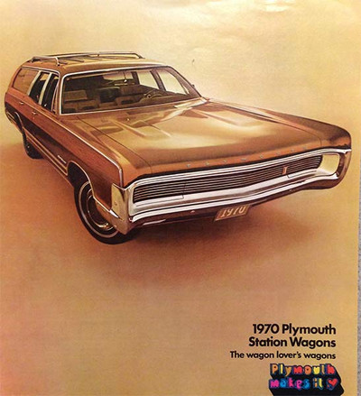 1970 Plymouth Station Wagons 10-Page Color Brochure