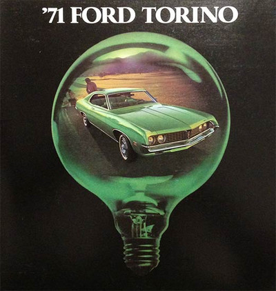 1971 Ford Torino 19-Page Dealer Color Brochure