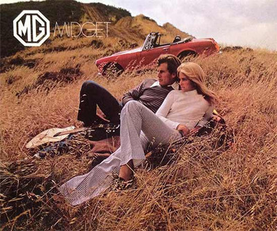 1971 MG Midget Color Sales Brochure