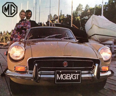 1971 MG Motors MGB/GT Color Sales Brochure