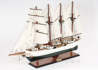 Esmeralda Painted Version Sailing Ship