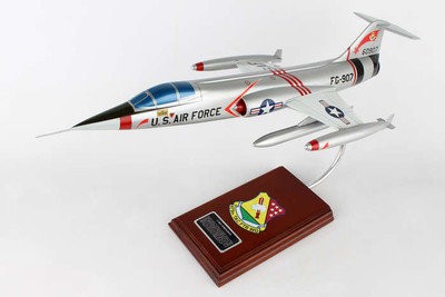 F-104C Starfighter Military Aircraft Model