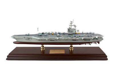 USS George H.W. Bush CVN-77 Aircraft Carrier Ship Model