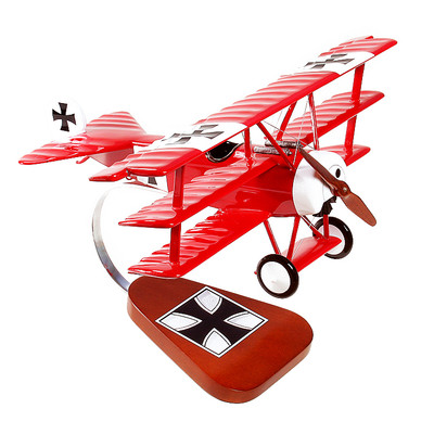 Authentic Models Fokker Triplane Red Baron AP203