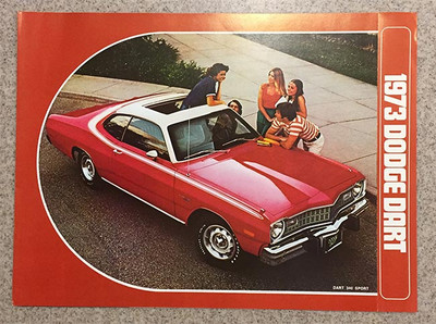 1973 Dodge Dart Dealer Brochure