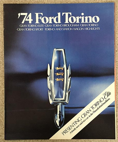 1974 Ford Torino Elite Sales Brochure