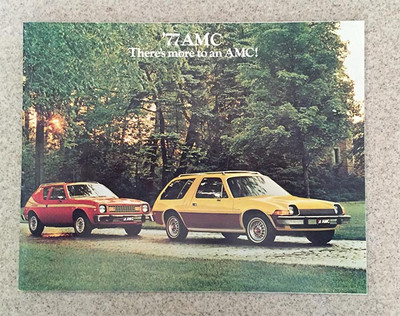 1977 AMC Full Line Original Brochure