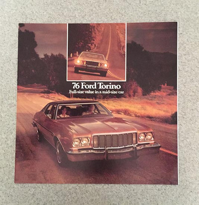 1976 Ford Torino Original Dealer Brochure