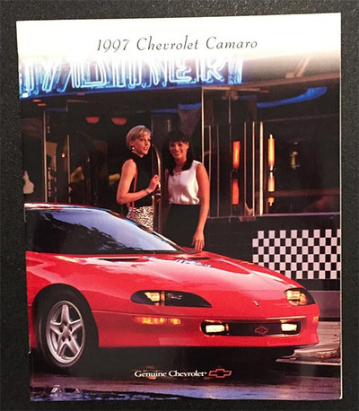 1997 Chevrolet Camaro Original Brochure