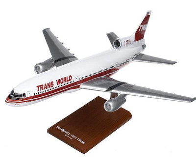 Trans World Airlines L-1011 Model Airplane