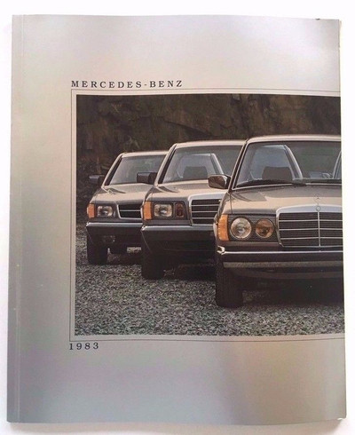 1983 Mercedes-Benz Full Line Original Brochure