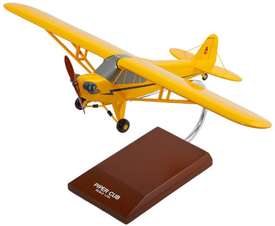 Piper Cub J-3 Model Airplane